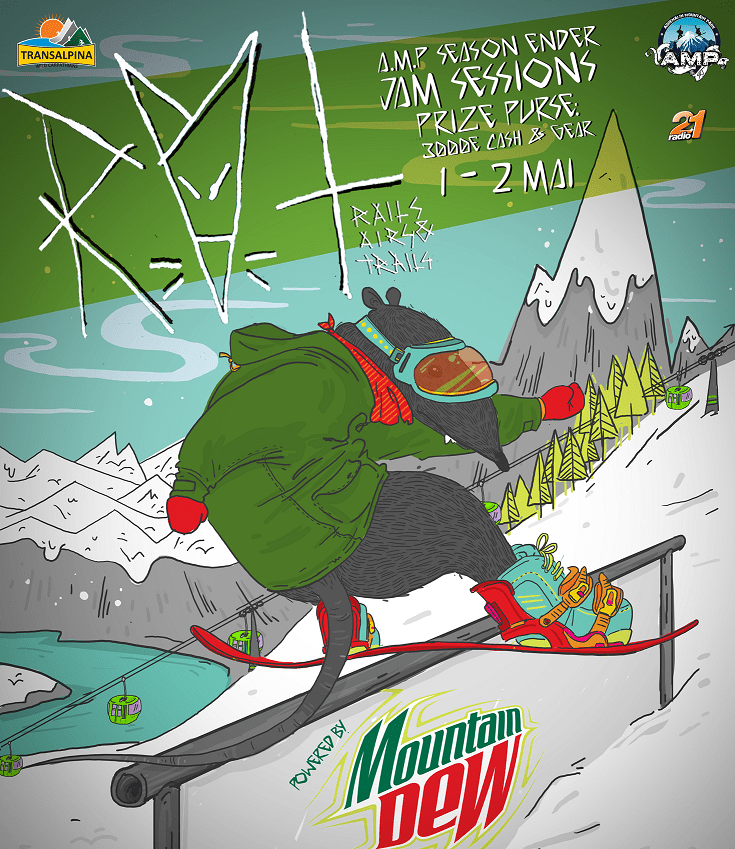 Snowboarding Contest Voineasa